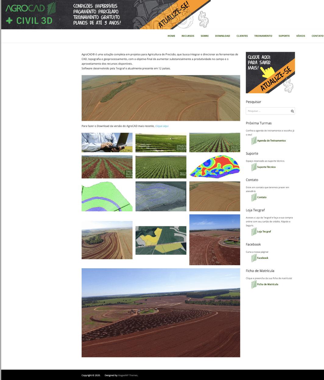 AgroCAD Website